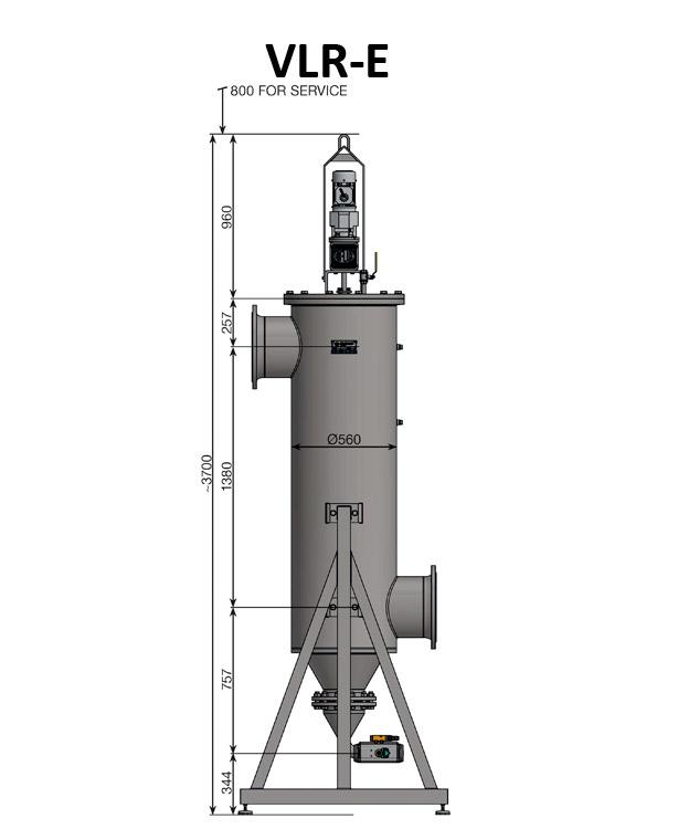 Auto-line automat filtre VLR-E